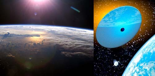 space mirrors 5 Strange Stop Gap Solutions to Climate Problems
