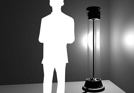 Gravity Powered Lamp