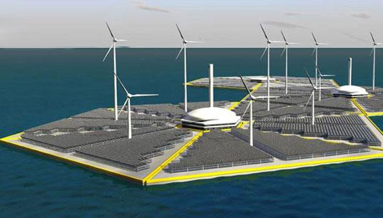 Offshore Energy Islands