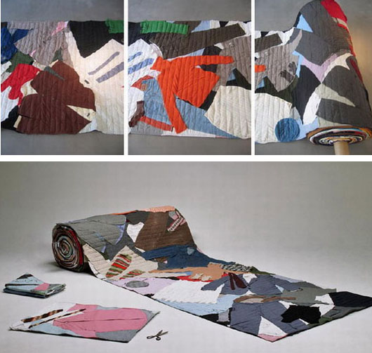 recycled clothing rug 10 Creative Ways to Recycle Ordinary Objects