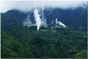 Geothermal power plants generate electricity from natural heat within the earth. Photo by MaBrenda