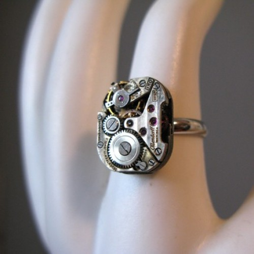 watch ring dustdesignco Wearing Trash? 10 Recycled Jewelry Designs That Demand Attention