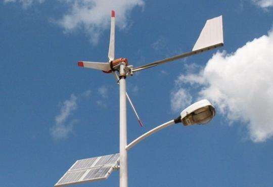 Wind-Solar Hybrid Light_540