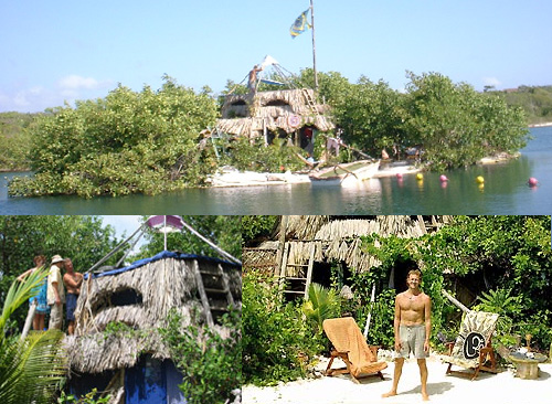 floating plastic bottle island Extraordinary Reuse Projects   10 Amazing Ways to Recycle Plastic Bottles