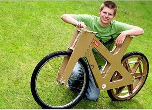 cardboard-bicycle