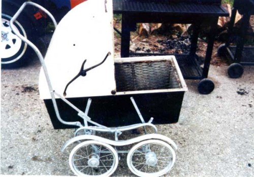 baby carriage grill 10 Eco Friendly BBQ Grills to Green Your Summer
