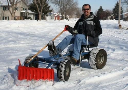 pedal-snowplow