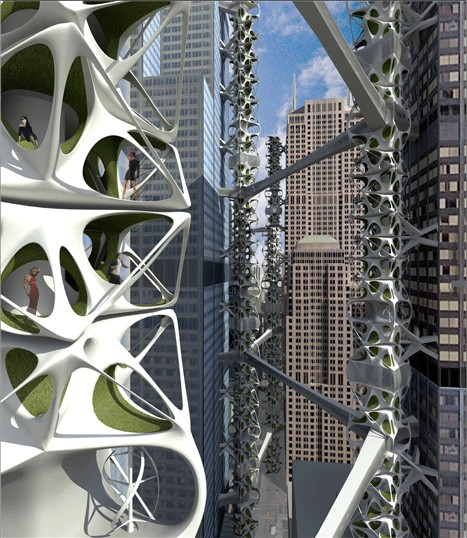 Retrofitting Skyscrapers