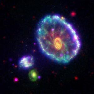 Deep field image of many galaxies. Courtesy of NASA