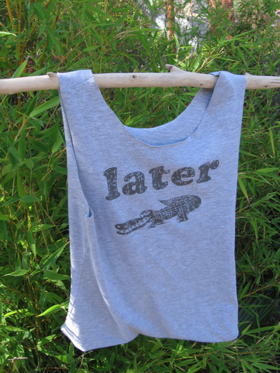 A great use for your favorite old tshirt.  Photo via WildOnion