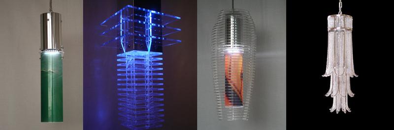 Kinetic lighting by S.K.I.N.