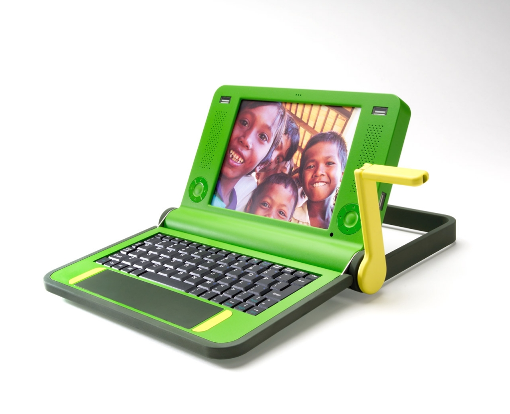 One Laptop Per Child (OLPC) - Crank
