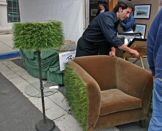Bob Gromofsky Designs - Grass Chair_540