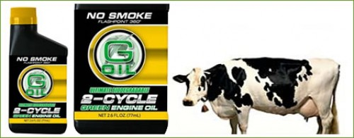 Green engine oil from cow fat