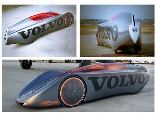 Volvo's gravity powered car