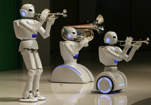 Toyota Robotic Band (REUTERS/Toru Hanai)