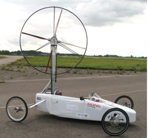 Wind turbine racer