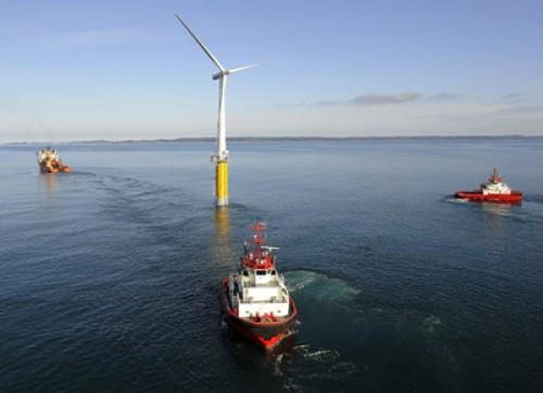 Hywind: Siemens und StatoilHydro installieren erste schwimmende